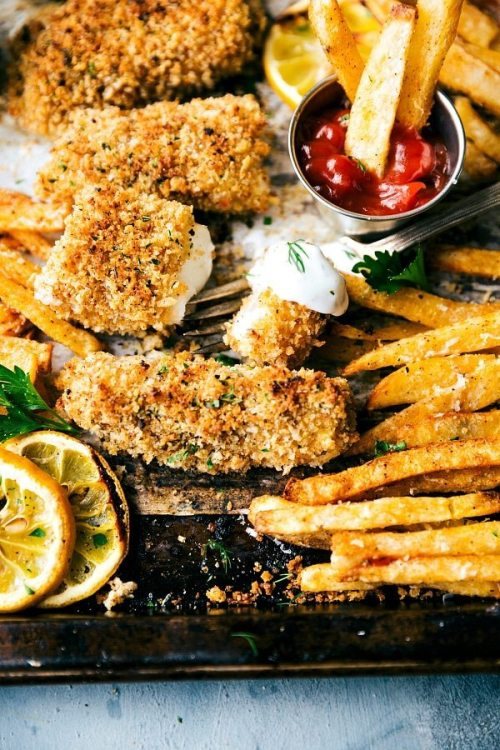 10 Easy Seafood Sheet Pan Meals Dish On Fish