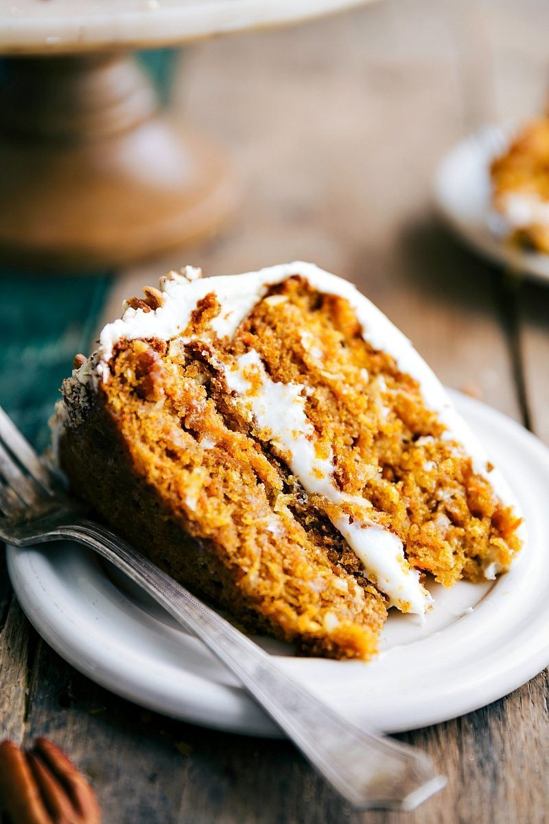 The Best Carrot Pumpkin Cake Chelsea S Messy Apron