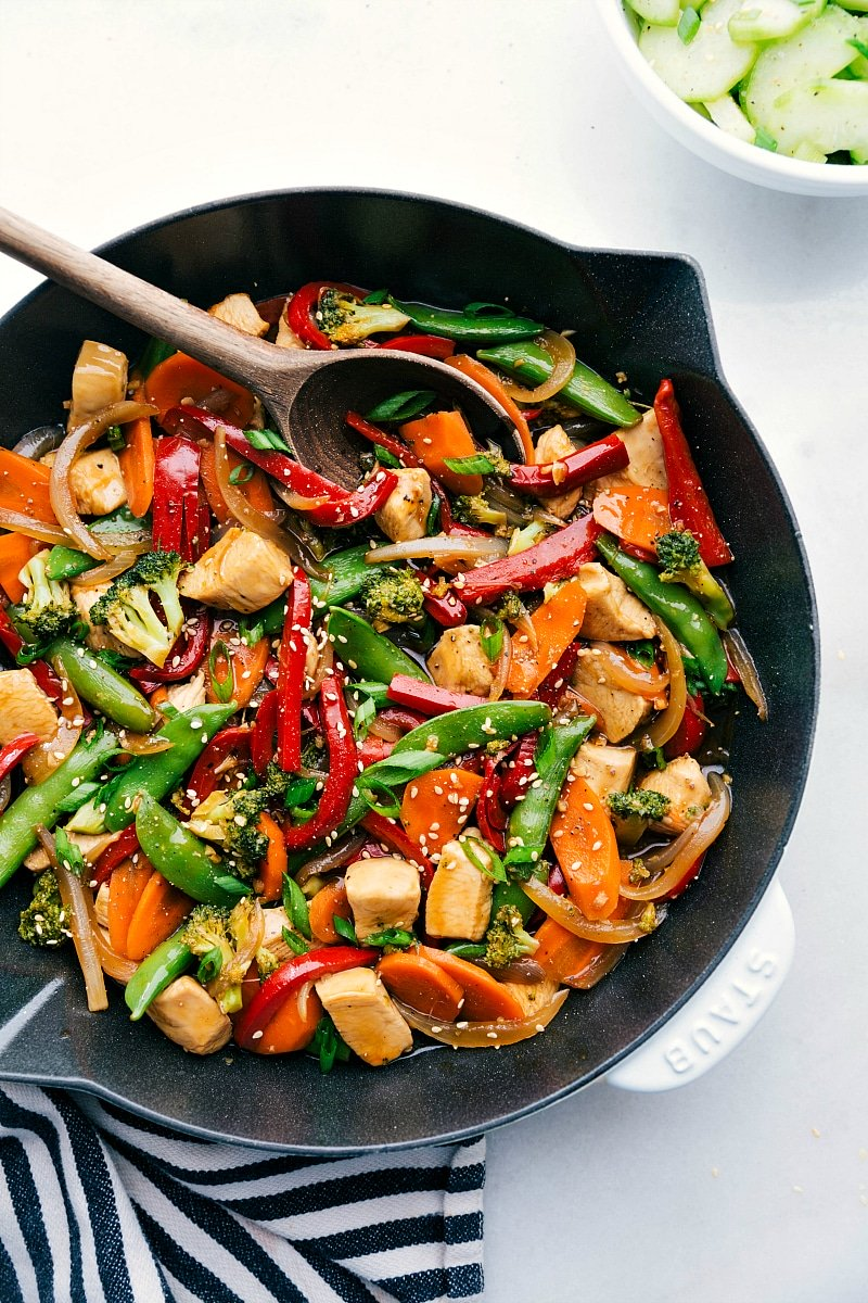 Chicken Stir Fry {in 30 Minutes!}   Chelsea's Messy Apron