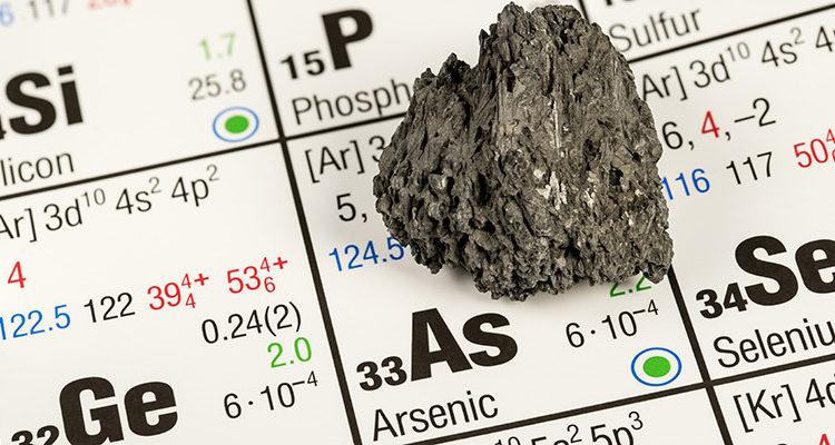 toxicologia do arsênio