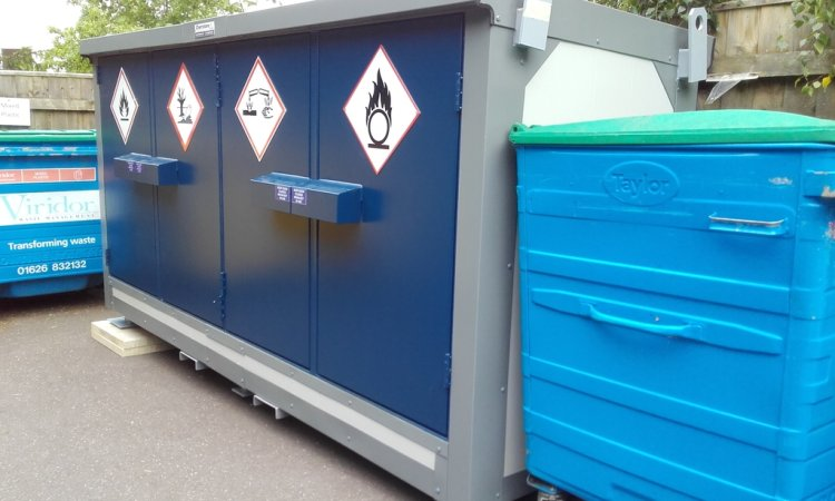 Fully segregated fire rated storage