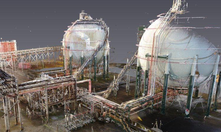 3D Laser Surveying, 3D Modelling Technologies and a 4D Lizard Smart Hub Disrupt the Process Industry