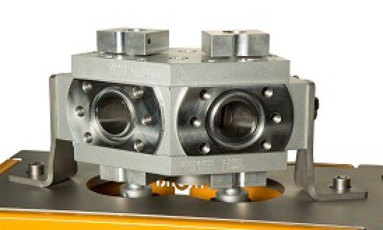 Special design pump unit  for double throughput