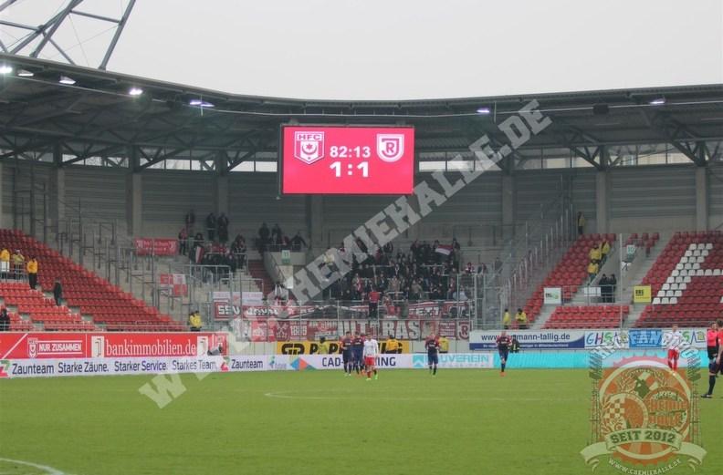 Bericht: Hallescher FC – SSV Jahn Regensburg 1:1
