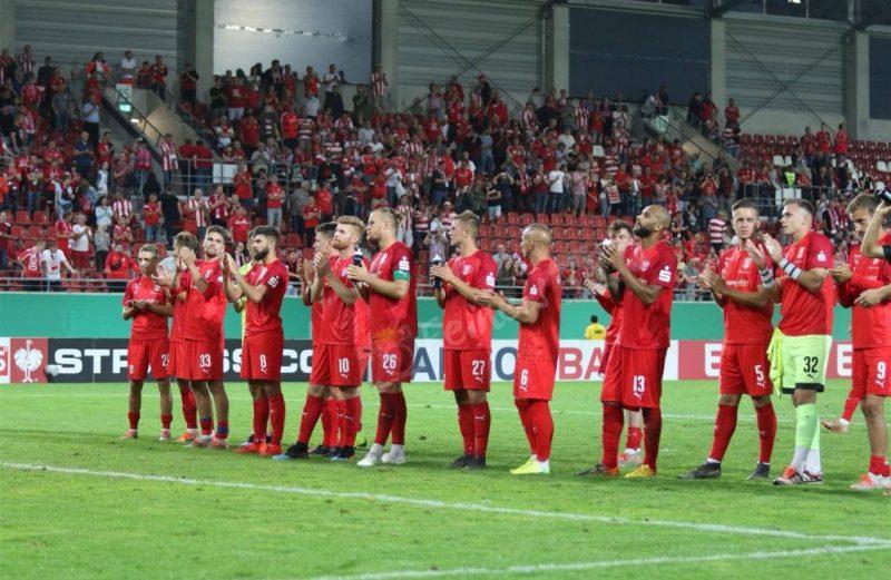 Hallescher FC – VfL Wolfsburg Bilder und Videos