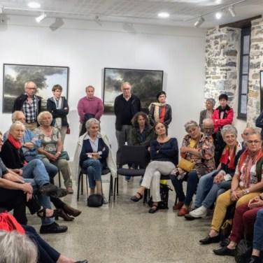 """Vernissage de l'exposition """"Paysages"""" de Jean-Pierre Ugarte"""