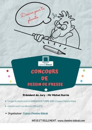 Concours Dessin Presse chemins bideak