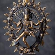 shiva nataraja en bronze