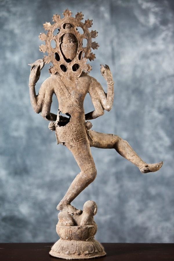 shiva en bronze