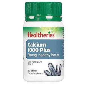 Healtheries Calcium 1000 Plus 50 tablets