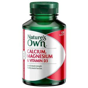 Nature's Own Calcium & Magnesium with D3 120 tablets