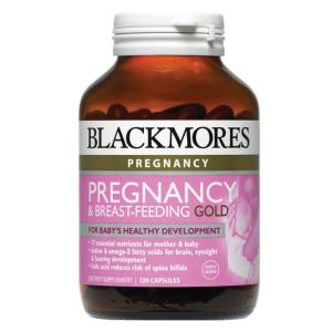 Blackmores Pregnancy & Breastfeeding Gold 120 Capsules