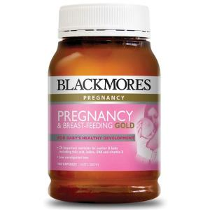 Blackmores Pregnancy & Breastfeeding Gold 180 Capsules