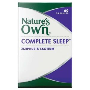 Complete Sleep 30 Capsules – Natures Own