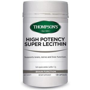 High Potency Super Lecithin 120 Capsules – Thompsons