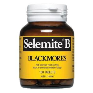 Blackmores Selemite B 100 Tablets