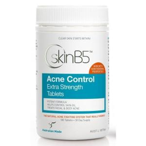 Acne Control Extra Strength 180 Tablets – SkinB5