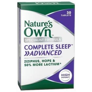 Complete Sleep Advanced 30 Tablets – Natures Own