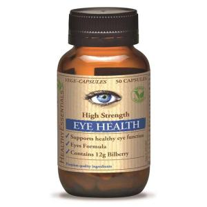 Eye Health (Bilberry 12000) 50 Vege Caps – Healthy Essentials
