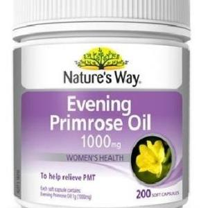 Evening Primrose Oil 1000mg 200 Capsules – Natures Way