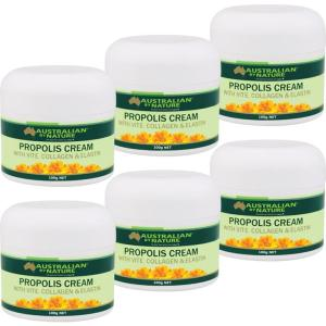 Australian By Nature Propolis Cream With Collagen Pack (6 x 100g)
