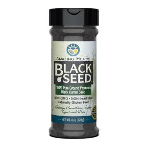 Amazing Herbs Black Cumin Seed Ground 120gm