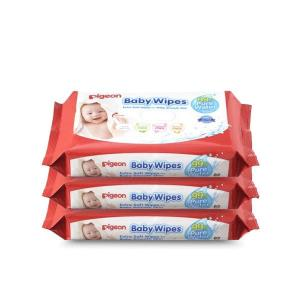Pigeon Baby Water Wipes 82 Pack x 3