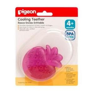 Pigeon Cooling Teether (Purple Strawberry)