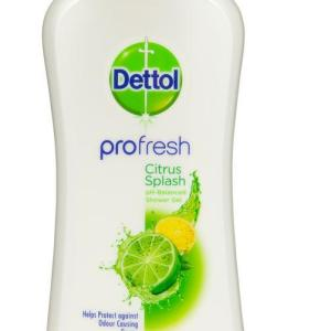 Dettol Profresh Shower Gel Citrus Splash 500ml