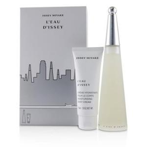 Issey Miyake L'Eau D'Issey Coffret : Eau De Toilette Spray 100ml/3.3oz + Moisturising Body Cream 75ml/2.6oz 2pcs Ladies Fragrance