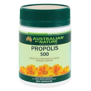 Australian By Nature Propolis 500mg 365 Capsules
