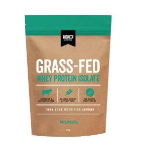 180 Nutrition Grass-Fed WPI 1kg Unflavoured