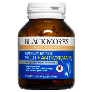 Blackmores Sustained Release Multi + Anti-Oxidants 75 Tablets