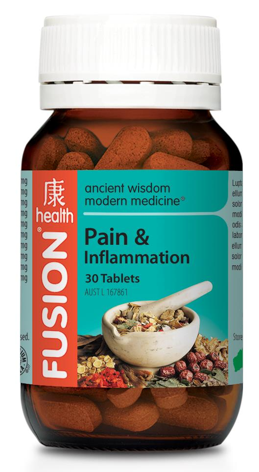 Fusion Health Pain & Inflammation 30 Tablets
