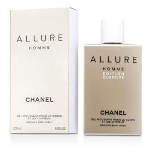 Chanel Allure Homme Edition Blanche Hair & Body Wash (Made in USA) 200ml/6.8oz Men's Fragrance