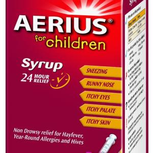Aerius For Children Syrup 60ml (Expiry 03/2016)