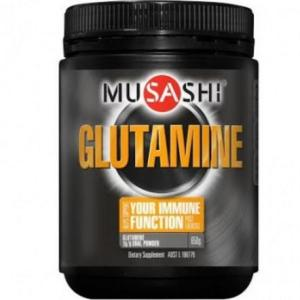 Musashi Glutamine 650g (Expiry May 2017)