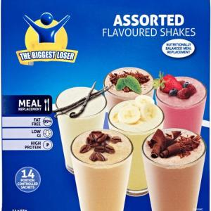 Biggest Loser Shakes Assorted Flavours 55g X 14