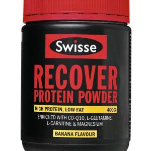 Swisse Active Recover Protein Powder Banana 400g