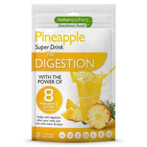 Naturopathica Pineapple Super Drink for Digestion 70g (Expiry 3/18)
