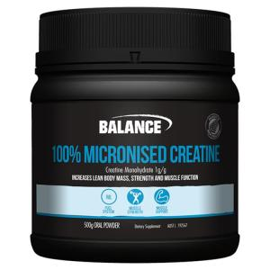 Balance 100% Micronised Creatine 500gm