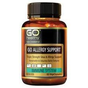 GO Healthy Go Allergy Support 30 vegecaps