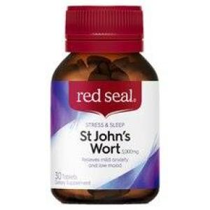 Red Seal St John's Wort 3000mg 30 tablets