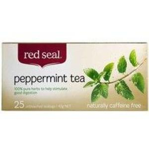 Red Seal Peppermint Tea 25 teabags