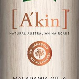 A'kin Conditioner For Dry & Damaged Hair Macadamia Oil & Wheat Protein 500ml