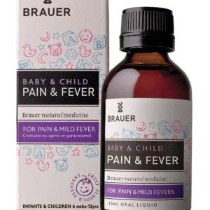 Brauer Child Care Pain And Fever Relief 50ml