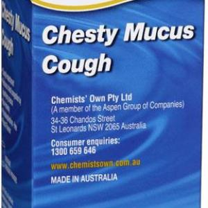 Chemists' Own Chesty Mucus Cough 200ml (Generic for BISOLVON)