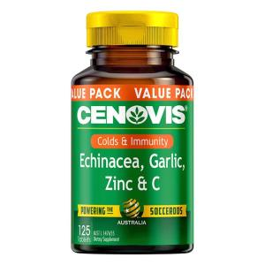 Cenovis Echinacea, Garlic, Zinc and C Tab X 125