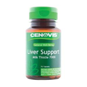 Cenovis Liver Support Milk Thistle 7000mg Tab X 75