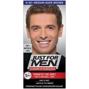 Just For Men Shampoo-In Haircolour (Medium Dark Brown)